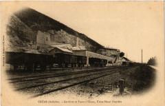 Cruas Carrieres et Fours a Chaux, Usine Henri Freydier - Cruas