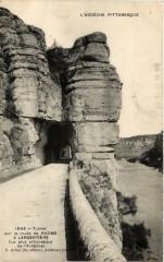 Tunnel sur la route de Ruoms a Largentiere - Ruoms
