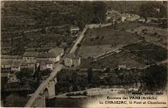 Le Chasezac - Environs des Vans - Le Pont et Chambonas - Chambonas