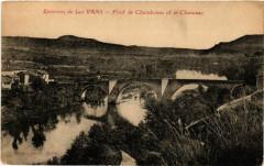 Environs de Les Vans - Pont de Chambonas et le Chasezac - Chambonas