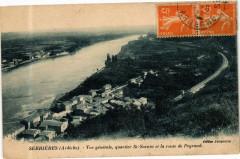 Serrieres - Vue Générale, quartier St-Sornin et la route Peyraud - Serrières