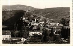 Salavas - Vue générale Ouest - Salavas