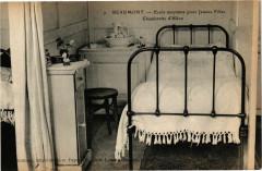 Beaumont - Ecole moyenne pour Jeunes Filles - Chambrette d'Eléve - Beaumont