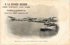 A La Grande Maison Habillements. La Corniche Marseille publicite 13 Marseille
