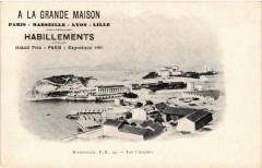 A La Grande Maison Habillements. Les Catalans Marseille publicite 13 Marseille