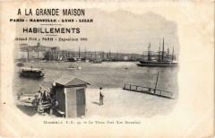 A La Grande Maison Habillements. Le Vieux Port Marseille publicite 13 Marseille