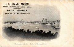 A La Grande Maison Habillements. Entrée Marseille publicite 13 Marseille