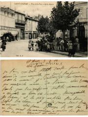 Saint-Chamas Place de la Poste et de la Mairie - Saint-Chamas