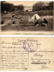 15. Guerre 1914 Boulangers Hindous. La Penne a Marseille 13 Marseille