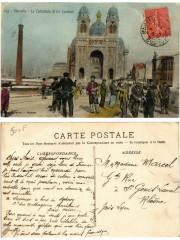 127 - Marseille - La Cathedrale et les Cordiers 13 Marseille