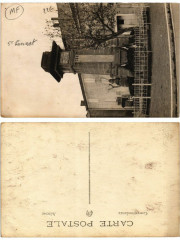 Carte photo Saint-Cannat Monument aux Morts - Saint-Cannat