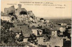 Vernegues Le Chateau en s'ecroulant a detruit une partie - Vernègues