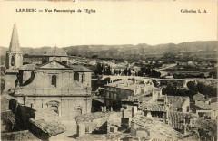 Lambesc Vue panoramique de l'Eglise - Lambesc