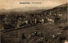 Gemenos Vue générale - Gémenos