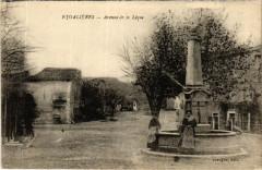 Eygalieres Avenue de la Leque - Eygalières