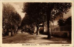 Mallemort - Place du Marche - Mallemort