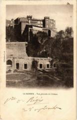 La Barben - Vue générale du Chateau - La Barben