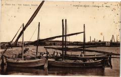Port-de-Bouc-Pecheurs au repos - Port-de-Bouc