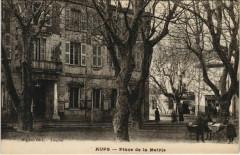Aups Place de la Mairie - Aups