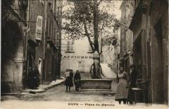 Aups Place du Marche - Aups