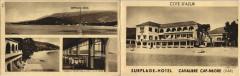 Cavalaire-sur-Mer Cap-Negre - Surplage Hotel - Double Sided Pc. - Cavalaire-sur-Mer