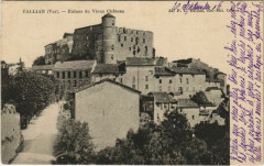 Callian Ruines du Vieux Chateau - Callian