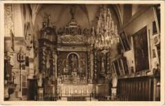 Bargemon Nef Principale de la Chapelle - Notre-Dame De Montaigu - Bargemon