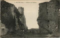 Callian Interieur du Chateau - Callian