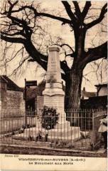 Villeneuve-sur-Auvers - Le Monument aux Morts - Villeneuve-sur-Auvers