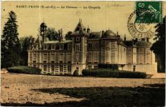 Saint-Vrain - Le Chateau - La Chapelle - Saint-Vrain