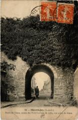 Montlhéry - Porte de Linas, restes des Fortifications de 1589 - Linas
