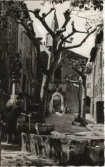 Bargemon L'Eglise - La Fontaine - Bargemon