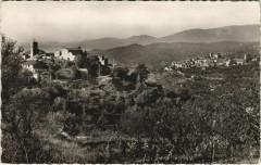 Montauroux Callian - Vue Panoramique Au Fond le Village Callian - Montauroux