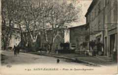 Saint-Zacharie Place du Quatre-Septembre - Saint-Zacharie