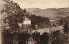 Meounes Sur le Route de Montrieux - La Bastide de la Grave - La Bastide