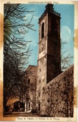 Bagnols-en-Foret - Place de Eglise et Grottes de la Vierge - Bagnols-en-Forêt