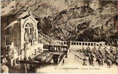 La Sainte-Baume - Intérieur de la Grotte - Plan-d'Aups-Sainte-Baume