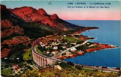 L'Esterel - La Corniche d'Or - Vue sur Anthéor et le Massif - Le Mas