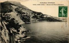Cap-d'Ail - Route de Nice a Monaco - Cap-d'Ail