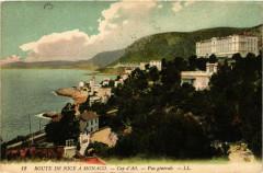 Cap-d'Ail - Vue générale - Route de Nice a Monaco - Cap-d'Ail