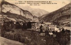 Saint-Martin-d'Entraunes Vue générale - Entraunes