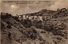 Rigaud Le Village, alt. 753 m - Vallée du Cians Par la Ligne - Rigaud