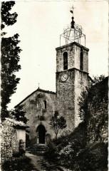 Greolieres- Eglise paroissiale France - Gréolières