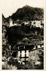 Touet sur Var- Le Village et la Cascade France - Touët-sur-Var
