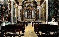 Sanctuaire de Notre Dame des Miracles Utelle, Interieur France - Utelle