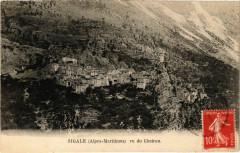 Sigale vu du Cheiron - Sigale