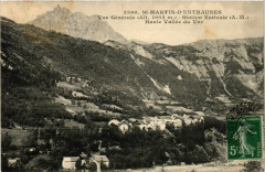 Saint-Martin d'Entraunes Vue générale - Entraunes