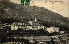 Roquesteron-Puget Un coin du Village - Roquestéron