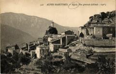 Alpes Maritimes Sigale Vue générale - Sigale