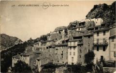 Alpes Maritimes Sigale le Quartier du Collet - Sigale